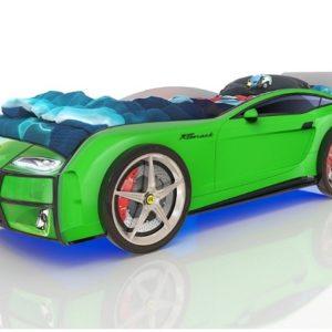 Кровать-машина Kiddy Зеленая
