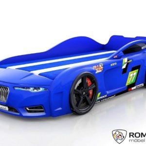 Кровать-машина Romack Renner-2 (2019) Синяя