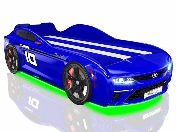 Кровать-машина Romack Energy Синяя