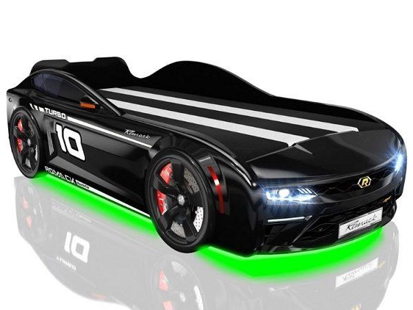 Кровать-машина Romack Energy Черная