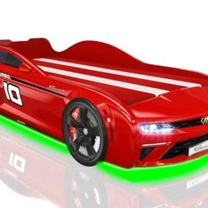 Кровать-машина Romack Energy Красная