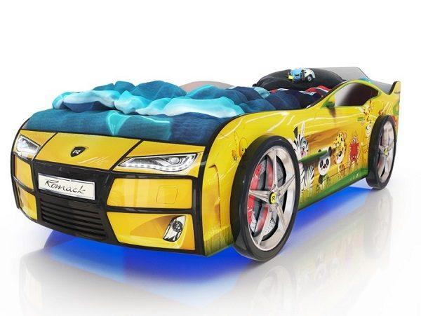 Кровать-машина Kiddy Зверята