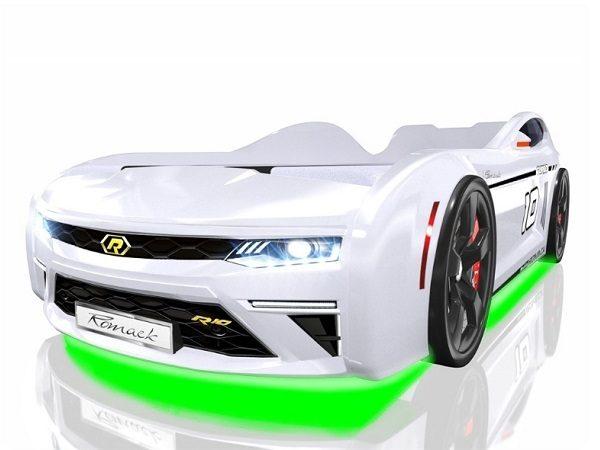 Кровать-машина Romack Energy Белая