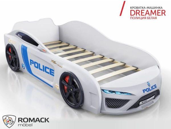 Кровать-машина Dreamer Полиция 2019