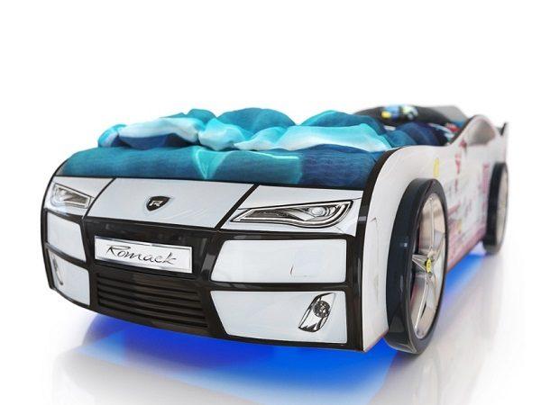 Кровать-машина Kiddy Мишка