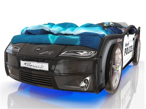Кровать-машина Kiddy Полиция