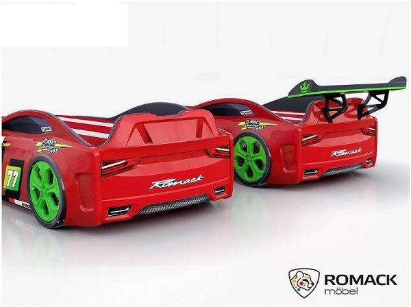 Кровать-машина Romack Renner-2 (2019) Красная