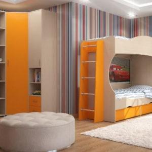 Детская комната Дельта - Композиция 7 ДВ