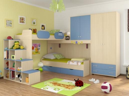 Детская комната Дельта - композиция 6 ДВ