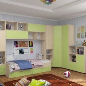 Детская комната Дельта - Композиция 2 ДС