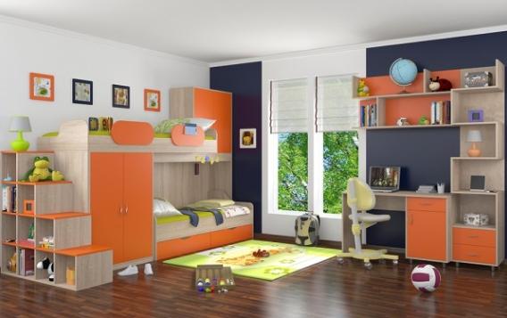 Детская комната Дельта - Композиция 1