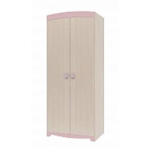 Шкаф для одежды в детскую Пинк