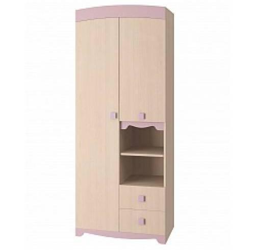 Шкаф в детскую для одежды Пинк)